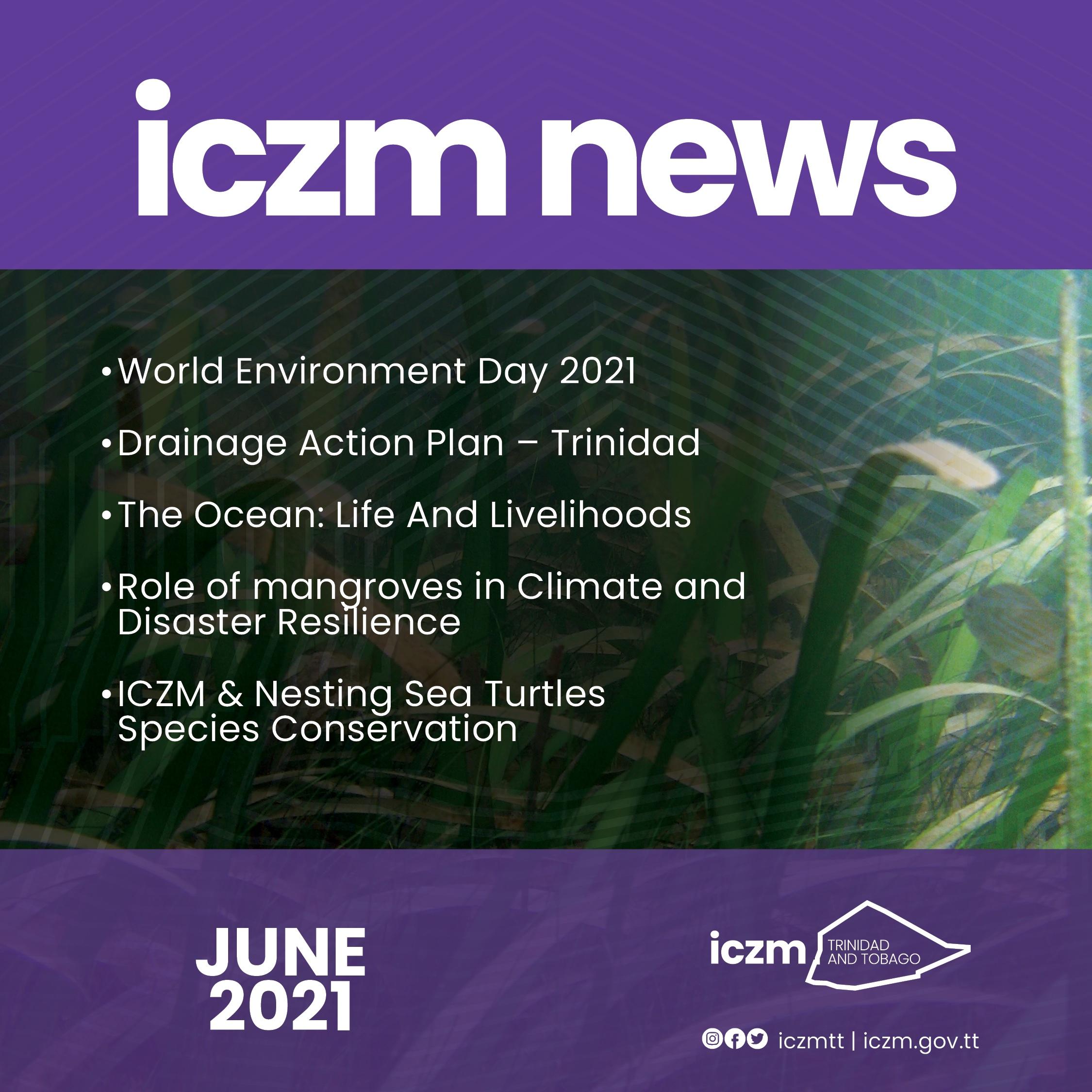 ICZM NEWS – June 2021
